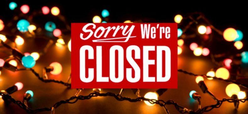 chiusura natalizia Augusto ristorante pizzeria torinoc